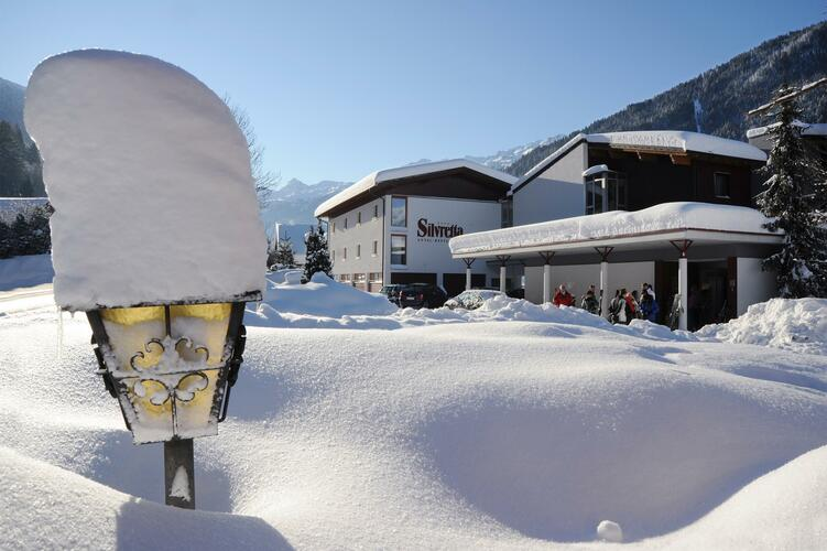 Hotel Silvretta im Winter